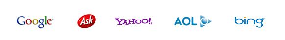 Google Yahoo Bing First Page